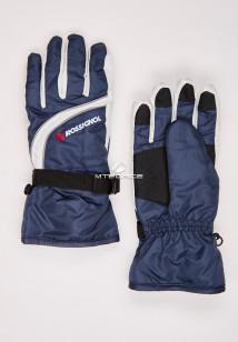 Купить оптом перчатки женские горнолыжные темно-синего цвета 319TS в интернет магазине MTFORCE.RU