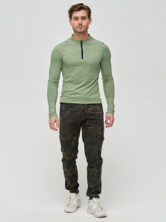 Трикотажные спортивные брюки мужские оптом от производителя купить у поставщика верхней одежды для всей семь MTFORCE в Москве по выгодным ценам артикул 3201Kh