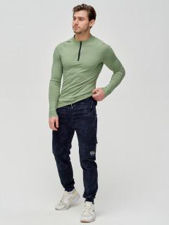 Трикотажные спортивные брюки мужские оптом от производителя купить у поставщика верхней одежды для всей семь MTFORCE в Москве по выгодным ценам артикул 3201TS