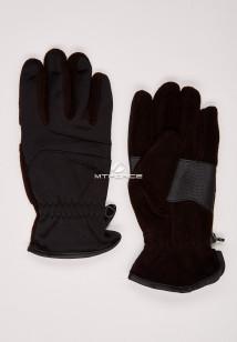 Купить оптом перчатки мужские для активного отдыха черного цвета 321Ch в интернет магазине MTFORCE.RU
