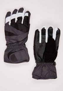 Купить оптом перчатки подростковые горнолыжные темно-серого цвета 323TC в интернет магазине MTFORCE.RU