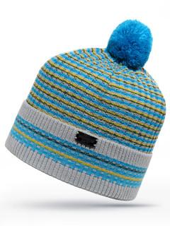 Купить оптом шапку голубого цвета в интернет магазине MTFORCE 6010Gl
