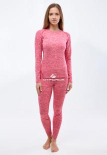 Термобелье круглогодичное розового цвета купить оптом в интернет магазине MTFORCE 3478R