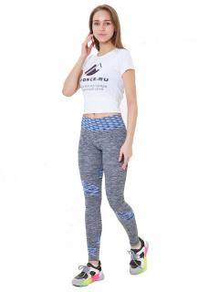 Легинсы брюки женские круглогодичные синего цвета купить оптом в интернет магазине MTFORCE 3918S