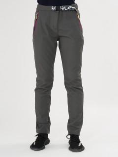Купить оптом брюки женские из ткани softshell дешево 371TC