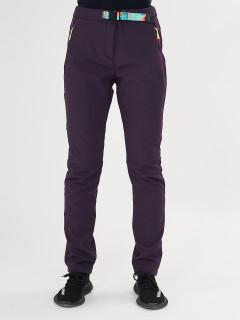 Купить оптом брюки женские из ткани softshell дешево 371TF