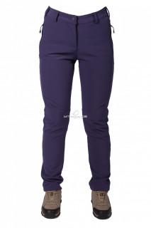 Купить оптом брюки виндстопер женские фиолетового цвета  3820F в интернет магазине MTFORCE.RU