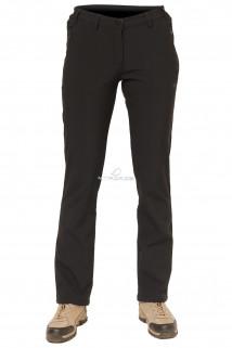 Купить оптом брюки виндстопер женские черного цвета 38201Ch в интернет магазине MTFORCE.RU