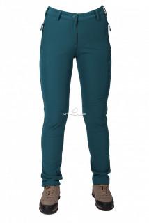 Купить оптом брюки виндстопер женские зеленого цвета  3820Z в интернет магазине MTFORCE.RU