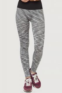 Купить оптом брюки легинсы женские серого цвета 3907Sr  в интернет магазине MTFORCE.RU