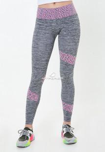 Легинсы брюки женские круглогодичные фиолетового цвета купить оптом в интернет магазине MTFORCE 3918F