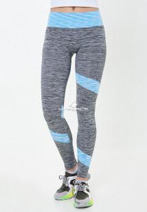 Легинсы брюки женские круглогодичные голубого цвета купить оптом в интернет магазине MTFORCE 3918Gl