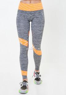 Легинсы брюки женские круглогодичные персикового цвета купить оптом в интернет магазине MTFORCE 3918P