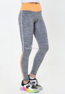 Легинсы брюки женские круглогодичные персикового цвета купить оптом в интернет магазине MTFORCE 3919P