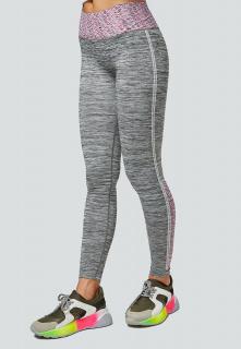 Легинсы брюки женские круглогодичные фиолетового цвета купить оптом в интернет магазине MTFORCE 3919F