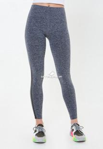 Легинсы брюки женские круглогодичные черного цвета купить оптом в интернет магазине MTFORCE 3925Ch