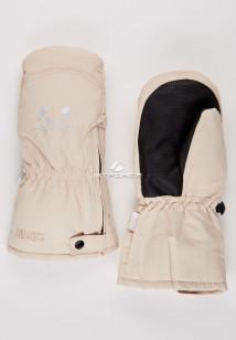 Купить оптом рукавицы зимние детские бежевого цвета 396B в интернет магазине MTFORCE.RU