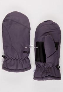 Купить оптом рукавицы зимние подросковые темно-серого 399TС в интернет магазине MTFORCE.RU