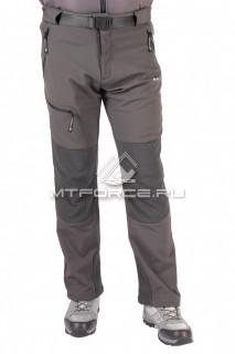 Купить оптом брюки виндстопер мужские серого цвета 413Sr в интернет магазине MTFORCE.RU