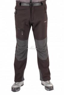 Купить оптом брюки виндстопер мужские черного цвета 413Ch в интернет магазине MTFORCE.RU