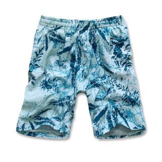Купить оптом спортивные шорты голубого цвета 4272Gl в интернет магазине MTFORCE.RU