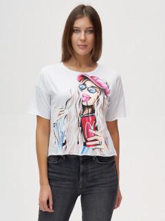 Компания производителя MTFORCE предлагает купить оптом футболки топы хлопок со стразами женские из Турции дешево по низким ценам! 4320Bl