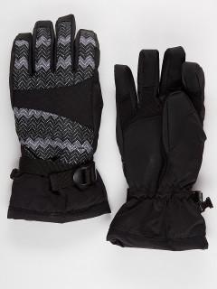 Горнолыжные перчатки женские зимние темно-серого цвета купить оптом в интернет магазине MTFORCE 443TC