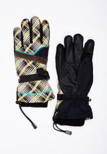 Горнолыжные перчатки женские зимние бежевого цвета купить оптом в интернет магазине MTFORCE 448B