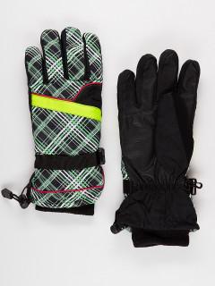 Горнолыжные перчатки женские зимние зеленого цвета купить оптом в интернет магазине MTFORCE 448Z