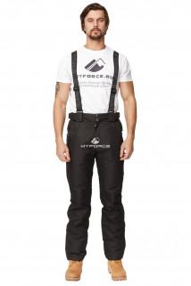 Купить оптом брюки горнолыжные мужские черного цвета 49028Ch в интернет магазине MTFORCE.RU