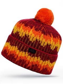 Купить оптом шапка оранжевого цвета в интернет магазине MTFORCE 6014O