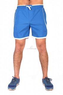 Купить оптом спортивные шорты синего цвета 512S в интернет магазине MTFORCE.RU