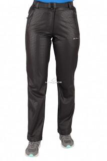 Купить оптом брюки виндстопер женские черного цвета 522-1Ch в интернет магазине MTFORCE.RU