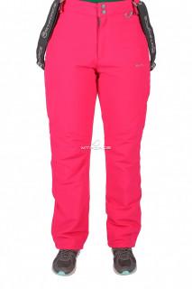 Купить оптом брюки горнолыжные женские розового цвета 524R в интернет магазине MTFORCE.RU