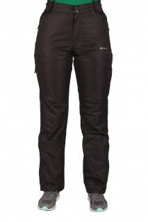 Купить оптом брюки горнолыжные женские черного цвета 525Ch в интернет магазине MTFORCE.RU