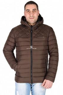 Купить оптом куртка мужская болотного цвета 1618Bt в интернет магазине MTFORCE.RU