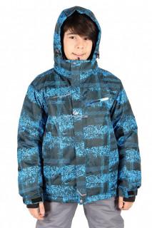 Купить оптом куртка горнолыжная подростковая для мальчика синего цвета 1773-1S в интернет магазине MTFORCE.RU