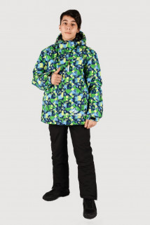 Купить оптом куртка горнолыжная подростковая для желтого цвета 546-1J в интернет магазине MTFORCE.RU