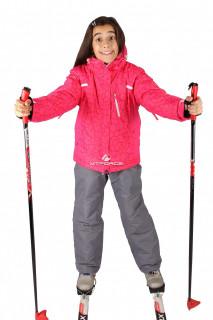 Интернет магазин MTFORCE.ru предлагает купить оптом костюм горнолыжный  для девочки красного цвета 548Kr по выгодной и доступной цене с доставкой по всей России и СНГ