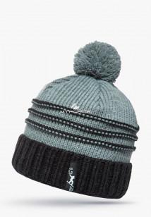 Купить оптом шапки зимние бирюзового цвета 5541Br в интернет магазине MTFORCE.RU