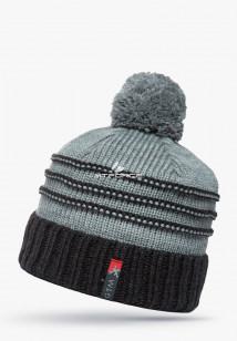 Купить оптом шапки зимние черного цвета 5541Ch в интернет магазине MTFORCE.RU