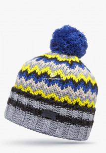 Купить оптом шапки зимние желтого цвета 5543J в интернет магазине MTFORCE.RU