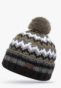 Интернет магазин MTFORCE.ru предлагает купить оптом шапки зимние серого цвета 5543Sr по выгодной и доступной цене с доставкой по всей России и СНГ