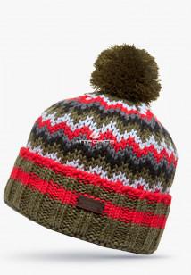 Купить оптом шапки зимние цвета хаки 5543Kh в интернет магазине MTFORCE.RU