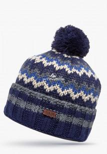 Интернет магазин MTFORCE.ru предлагает купить оптом шапки зимние темно-синего цвета 5543TS по выгодной и доступной цене с доставкой по всей России и СНГ