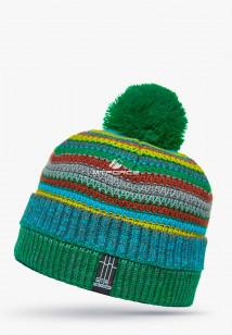 Купить оптом шапки зимние бирюзового цвета 5544Br в интернет магазине MTFORCE.RU