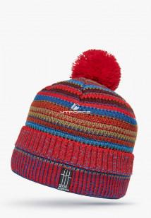 Купить оптом шапки зимние красного цвета 5544Kr в интернет магазине MTFORCE.RU