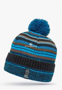 Купить оптом шапки зимние коричневого цвета 5544Gl в интернет магазине MTFORCE.RU