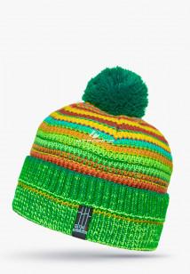 Купить оптом шапки зимние салатового цвета 5544Sl  в интернет магазине MTFORCE.RU