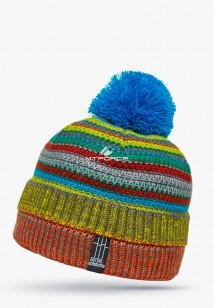 Купить оптом шапки зимние оранжевого цвета 5544O в интернет магазине MTFORCE.RU